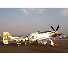 P-51 Mustang Fighter Plane Photographic Print