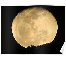moonrise II - salida de la luna Poster