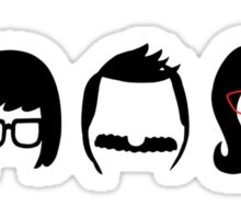 The Belcher's: shirt sizes now available! Sticker