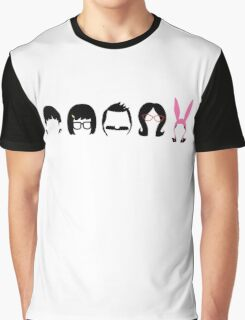 The Belcher's: shirt sizes now available! Graphic T-Shirt