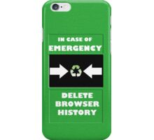 Emergency! iPhone Case/Skin