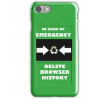 Emergency! iPhone Case/Skin