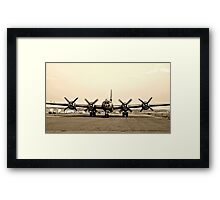 B-29 Bomber Plane - Classic Aircraft Framed Print