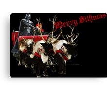 Merry Sithmas / Without Snow - Remastered Canvas Print