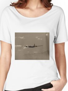 B-29 Bomber Fighter Plane Women's Relaxed Fit T-Shirt