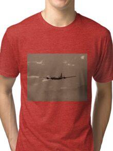 B-29 Bomber Fighter Plane Tri-blend T-Shirt