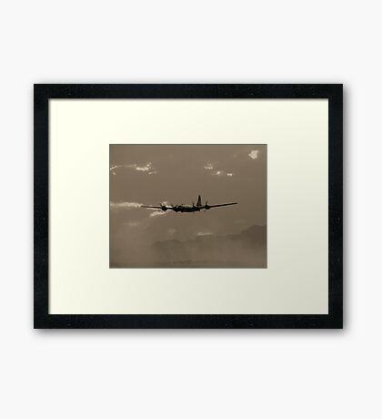 B-29 Bomber Fighter Plane Framed Print