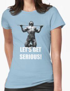 Arnie - Lets Get Serious, workout t shirt T-Shirt