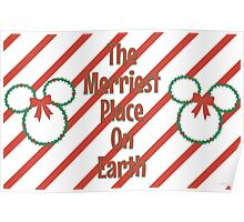 Merriest Place On Earth. Poster