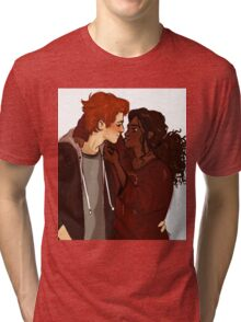 Ron Weasley & Hermione Granger  Tri-blend T-Shirt