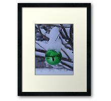 Snow Scene Framed Print