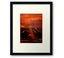Magic of Colours 3 Framed Print