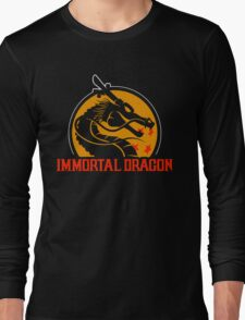 Inmortal Dragon - Shenron parody Long Sleeve T-Shirt