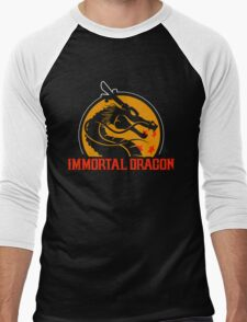 Inmortal Dragon - Shenron parody Men's Baseball ¾ T-Shirt