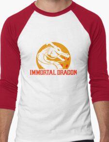 Inmortal Dragon - Shenron parody Men's Baseball ¾ T-Shirt