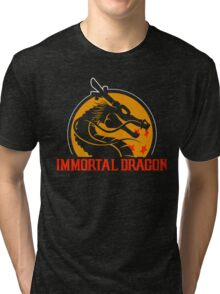 Inmortal Dragon - Shenron parody Tri-blend T-Shirt