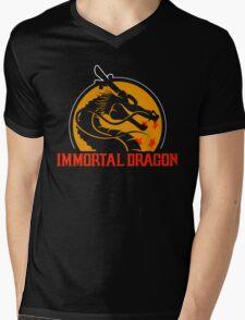 Inmortal Dragon - Shenron parody Mens V-Neck T-Shirt