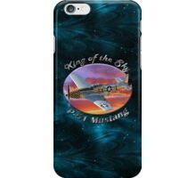 P-51 Mustang King of the Sky iPhone Case/Skin