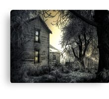 Early Day At The Farm Canvas Print