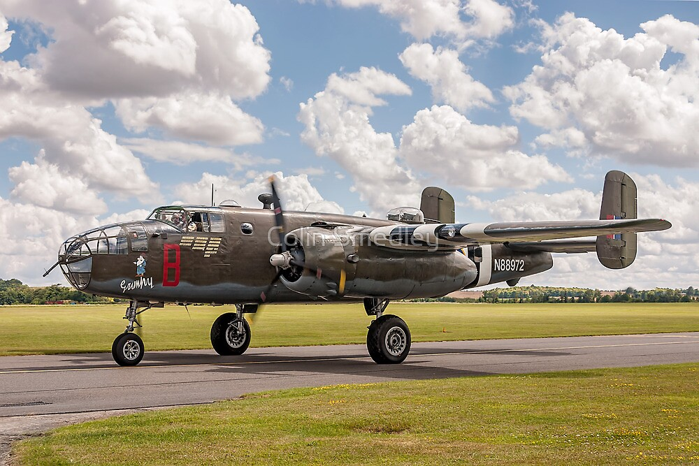 B-25D Mitchell II 43-3318 KL161 N88972 by Colin Smedley