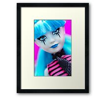 Punk Gothic Doll Framed Print