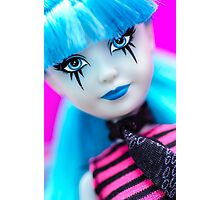 Punk Gothic Doll Photographic Print