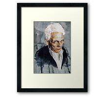 Derrida Framed Print