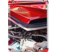 Candy Apple Red Horsepower - Ford Racing Engine iPad Case/Skin