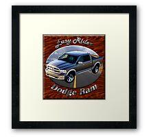 Dodge Ram Truck Easy Rider Framed Print