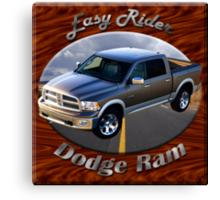 Dodge Ram Truck Easy Rider Canvas Print