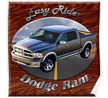 Dodge Ram Truck Easy Rider Poster
