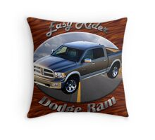 Dodge Ram Truck Easy Rider Throw Pillow