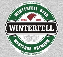 Winterfell Premium Beer by KZADesign