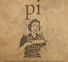 Pi Affects Overall Circumference Humor Pun Math Nerd Poster by scienceispun