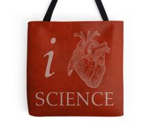I Heart Science Poster Tote Bag