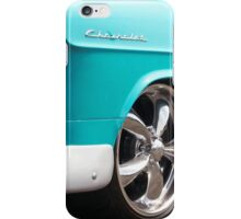 Baby Blue American Chevrolet Muscle Car iPhone Case/Skin