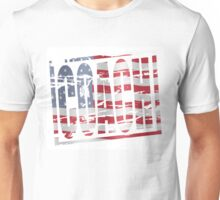 Coach Stars and stripes rubber stamp effect Unisex T-Shirt