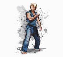Chuck Norris - Denim Gi by ronin47design