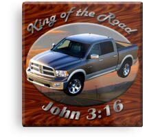Dodge Ram Truck King of the Road Metal Print