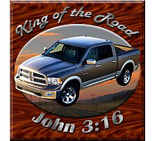 Dodge Ram Truck King of the Road Photographic Print