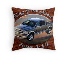 Dodge Ram Truck King of the Road Throw Pillow