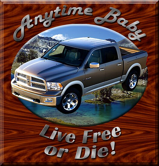 Dodge Ram Truck Anytime Baby by hotcarshirts