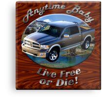 Dodge Ram Truck Anytime Baby Metal Print