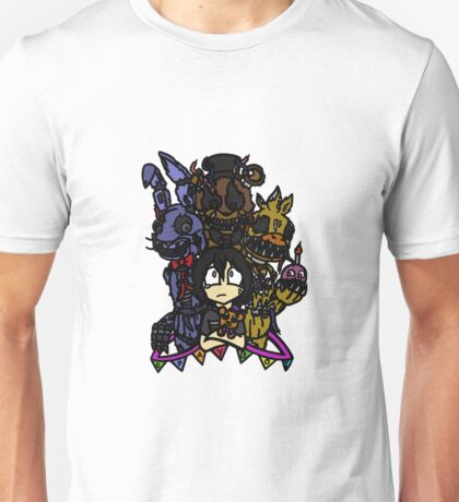 FNAF - My Friends Became Nightmares Version 1 Unisex T-Shirt