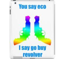 Revolver T-shirt iPad Case/Skin