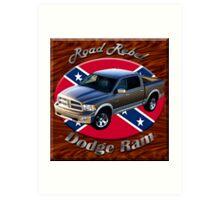 Dodge Ram Truck Road Rebel Art Print