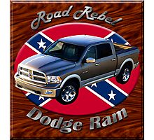 Dodge Ram Truck Road Rebel Photographic Print