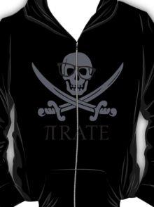 Pirate Humor Math Number Pi Nerd Shirt T-Shirt