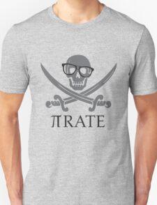 Pirate Humor Math Number Pi Nerd Shirt Unisex T-Shirt