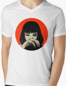 Mia (version 2) Mens V-Neck T-Shirt